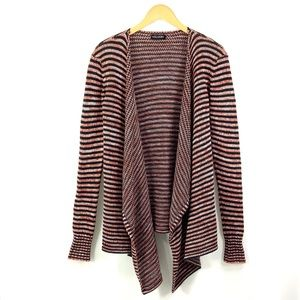 VOLCOM Open Front Cardigan Duster Sweater D16